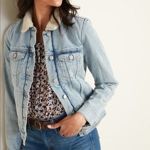 Sherpa Lined Old Navy Jacket
